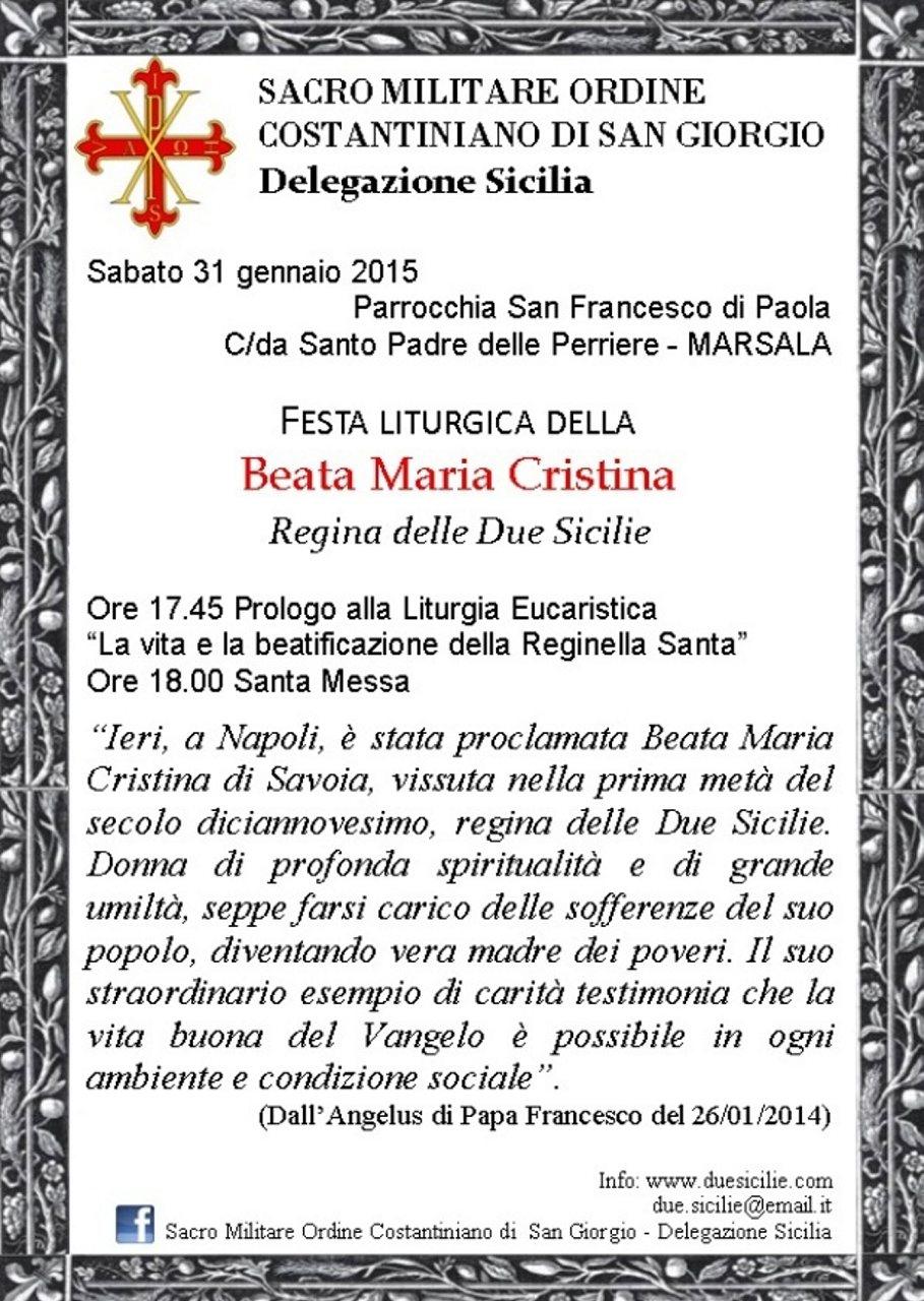MARSALA 31gen2015 invito beata maria cristina regina#001