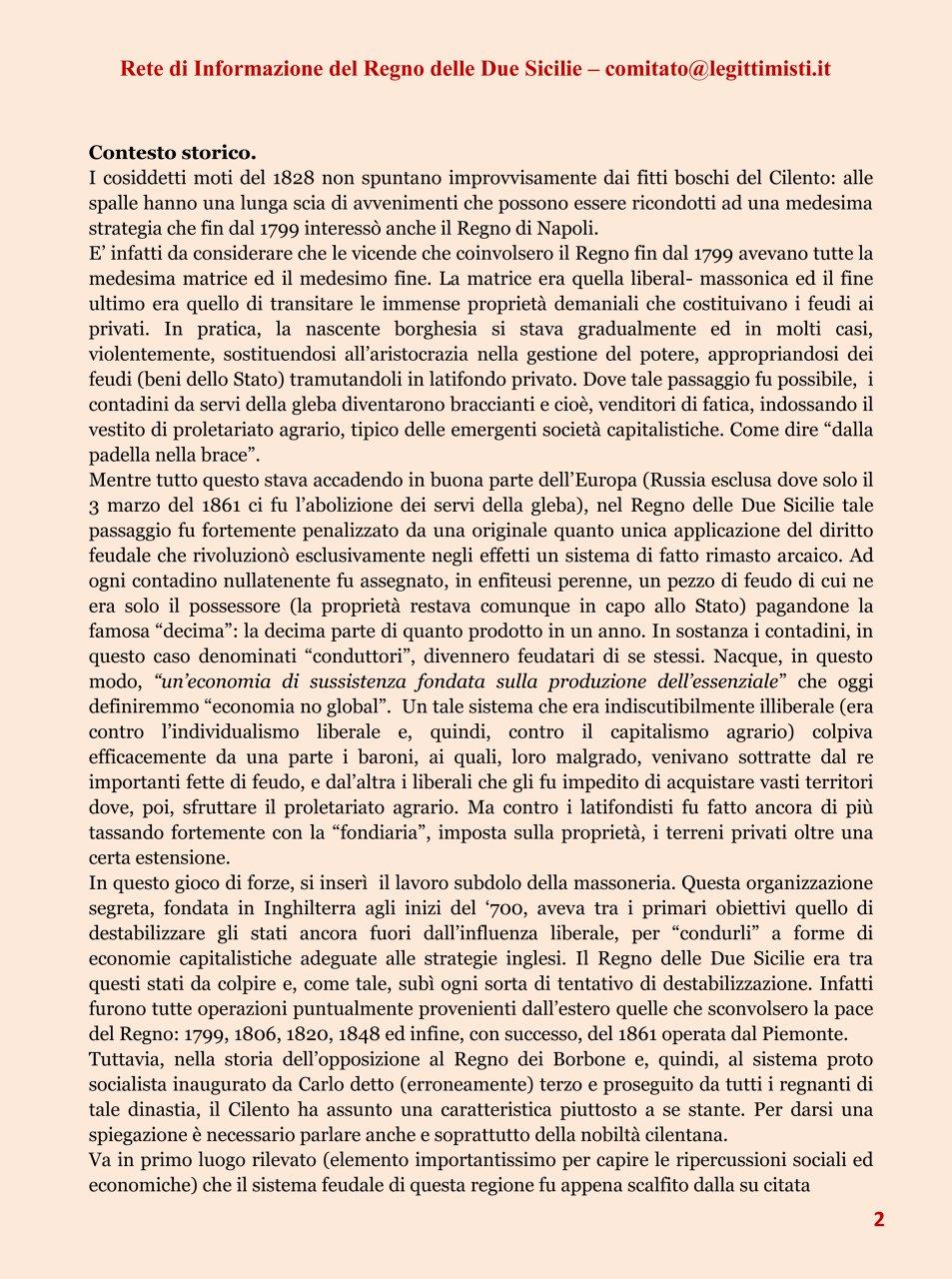 I Moti Cilentani del 1828 2#001
