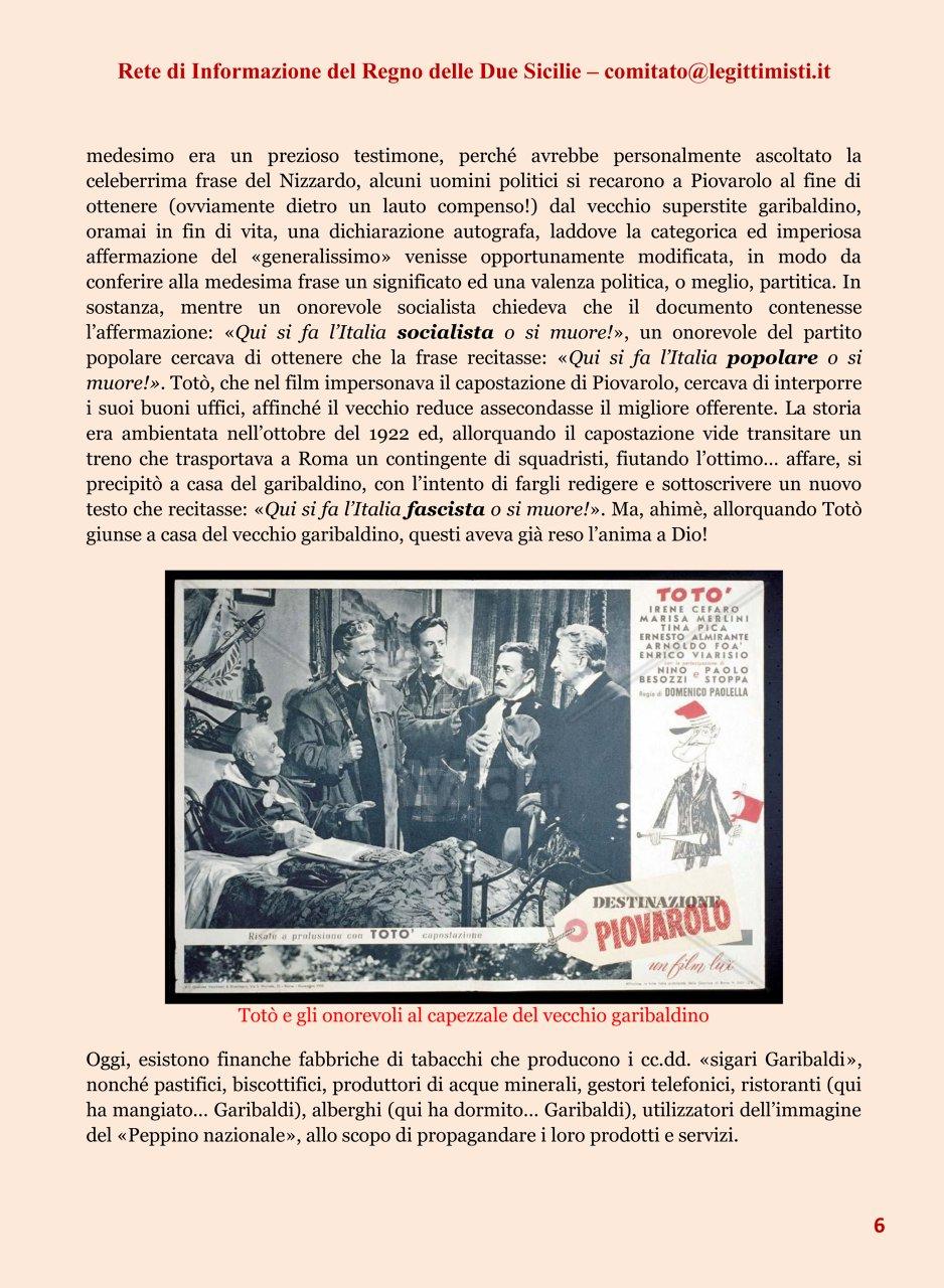 Il risorgimento italiano e la réclame Garibaldi 6#001