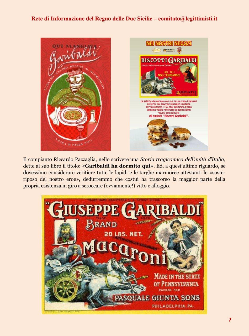 Il risorgimento italiano e la réclame Garibaldi 7#001