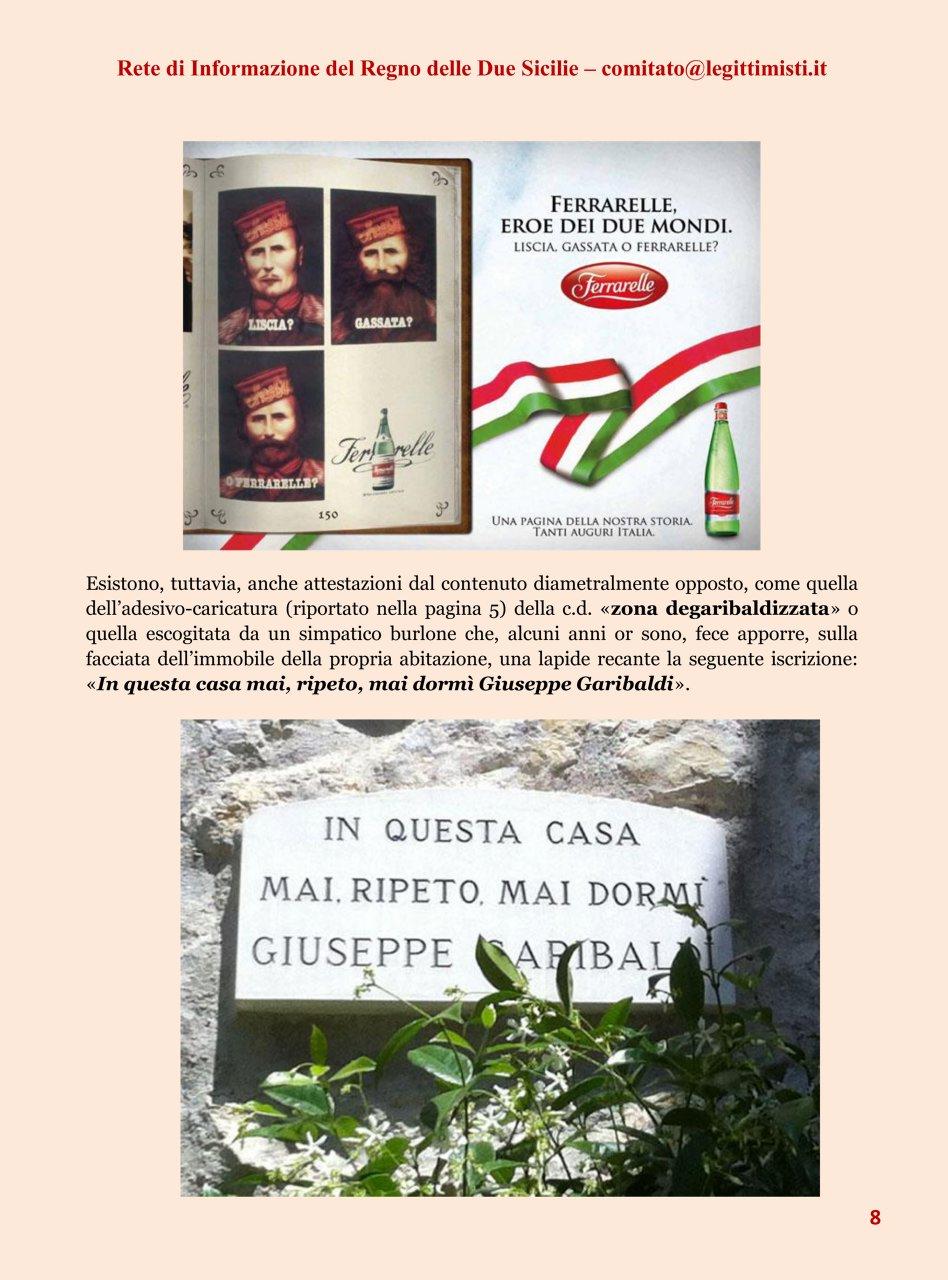 Il risorgimento italiano e la réclame Garibaldi 8#001