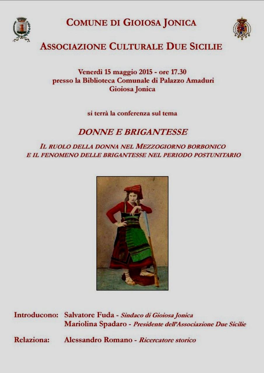 Briganti a Gioiosa Jonica BRIGANTESSE#001