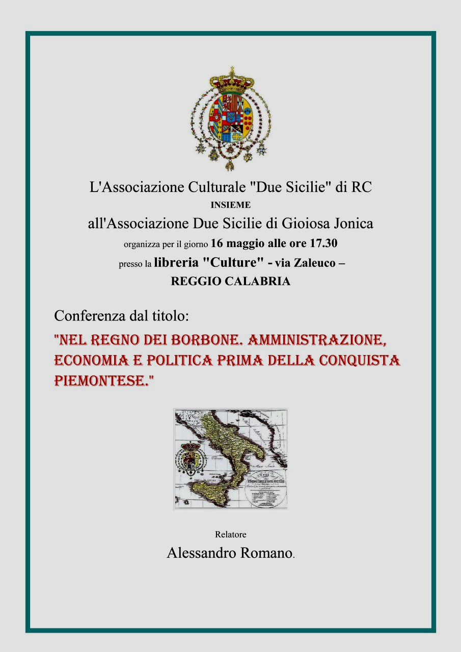 Briganti a Reggio Cal. Economia e Regno#001