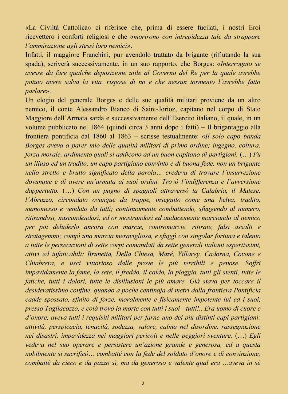 IL GENERALE JOSÉ BORGES 2#001