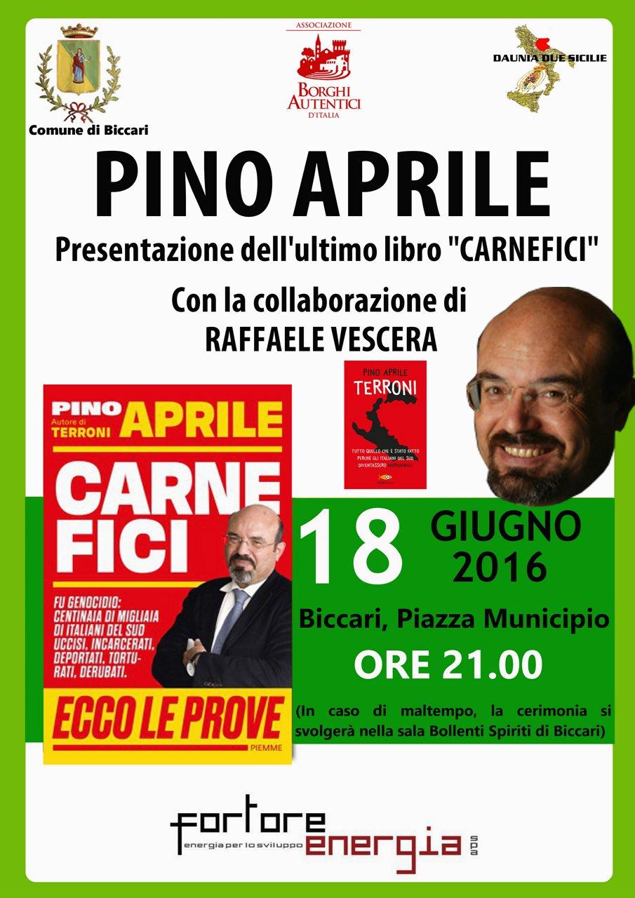 Pino Aprile a Biccari#001