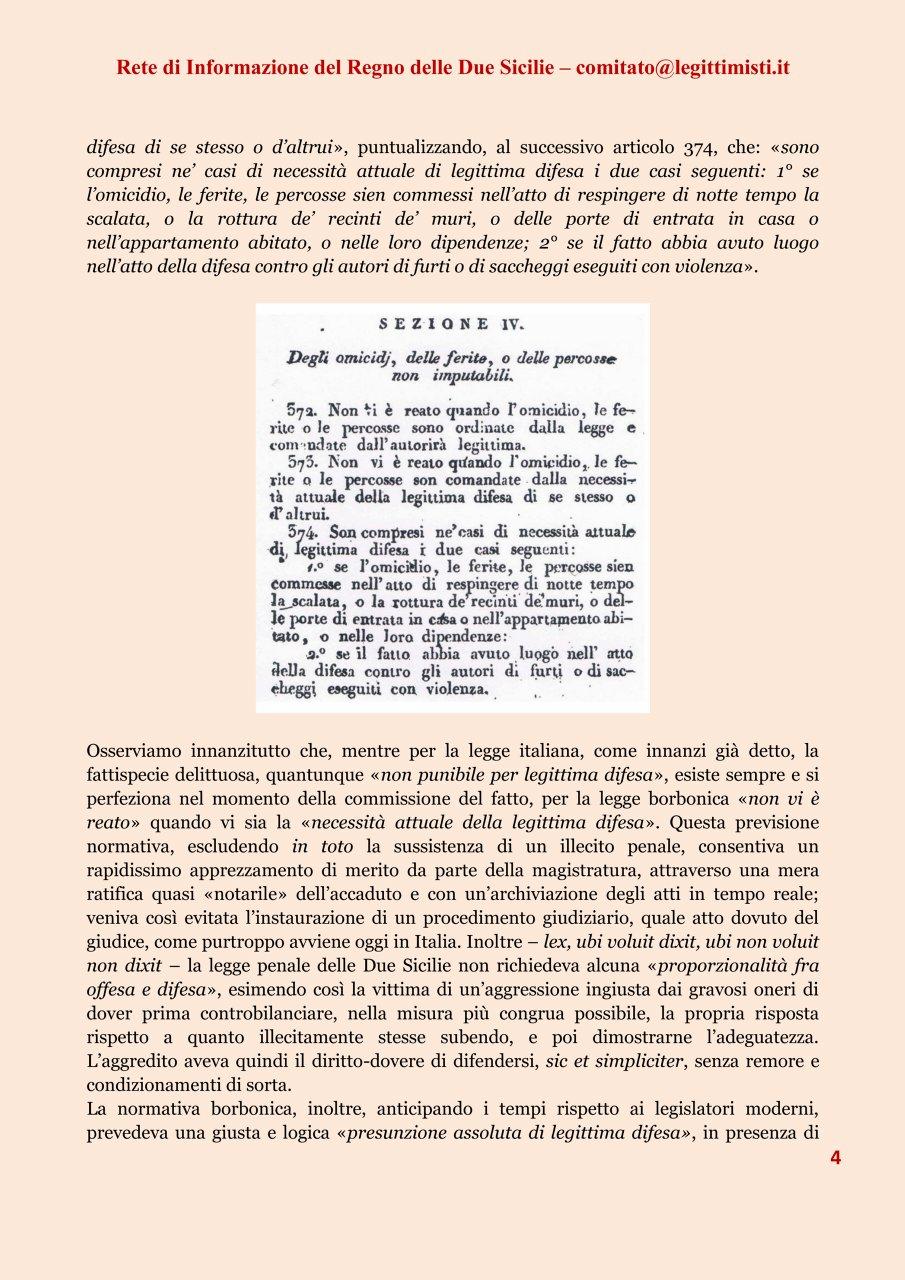 LA LEGITTIMA DIFESA 4#001