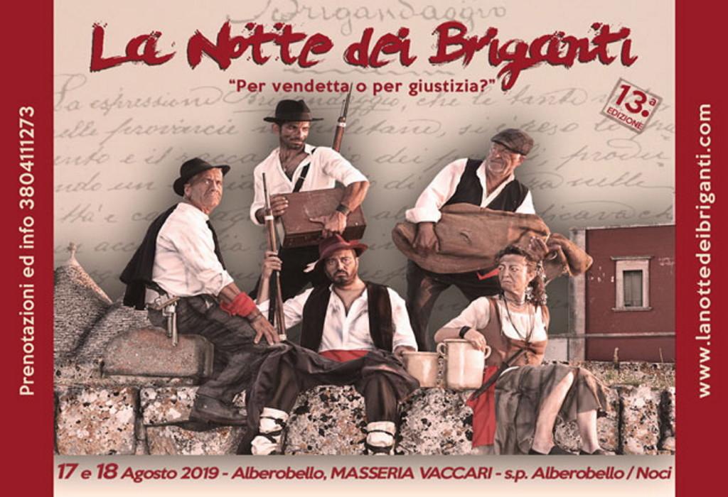 Notte dei Briganti ads alberobello#001