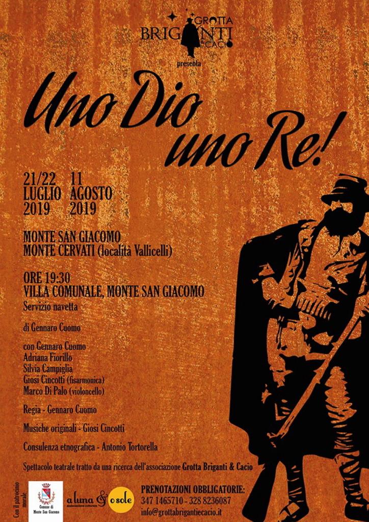 Uno Dio uno Re Monte San Giacomo#001