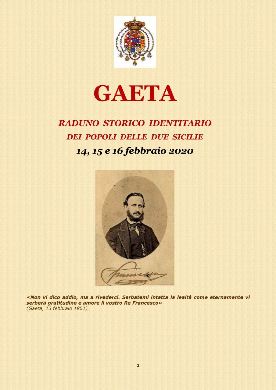 A Gaeta - Programma parziale 1#001