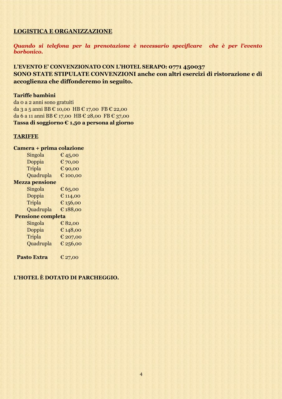 A Gaeta - Programma parziale 3#001