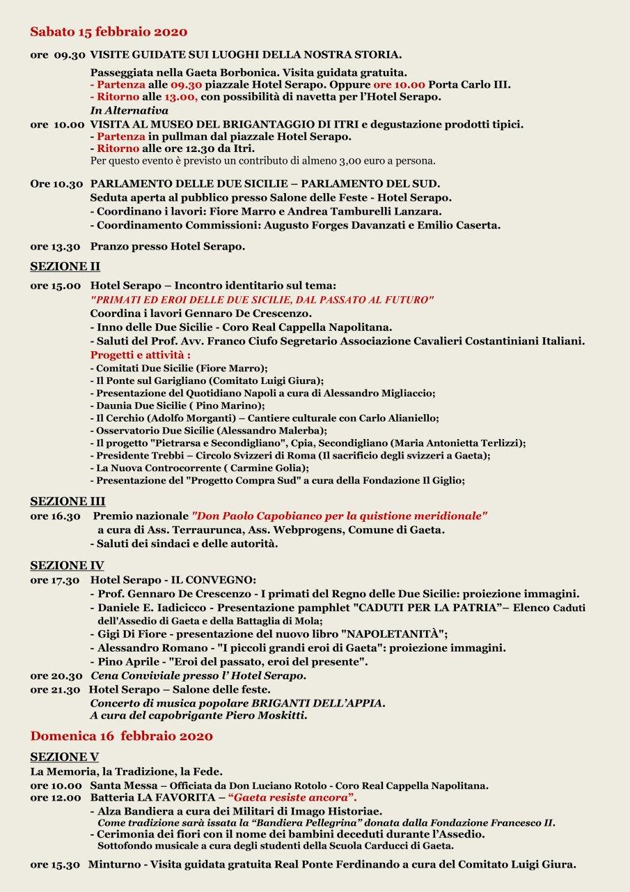 Gaeta 2020 Programma Ufficiale 3#001