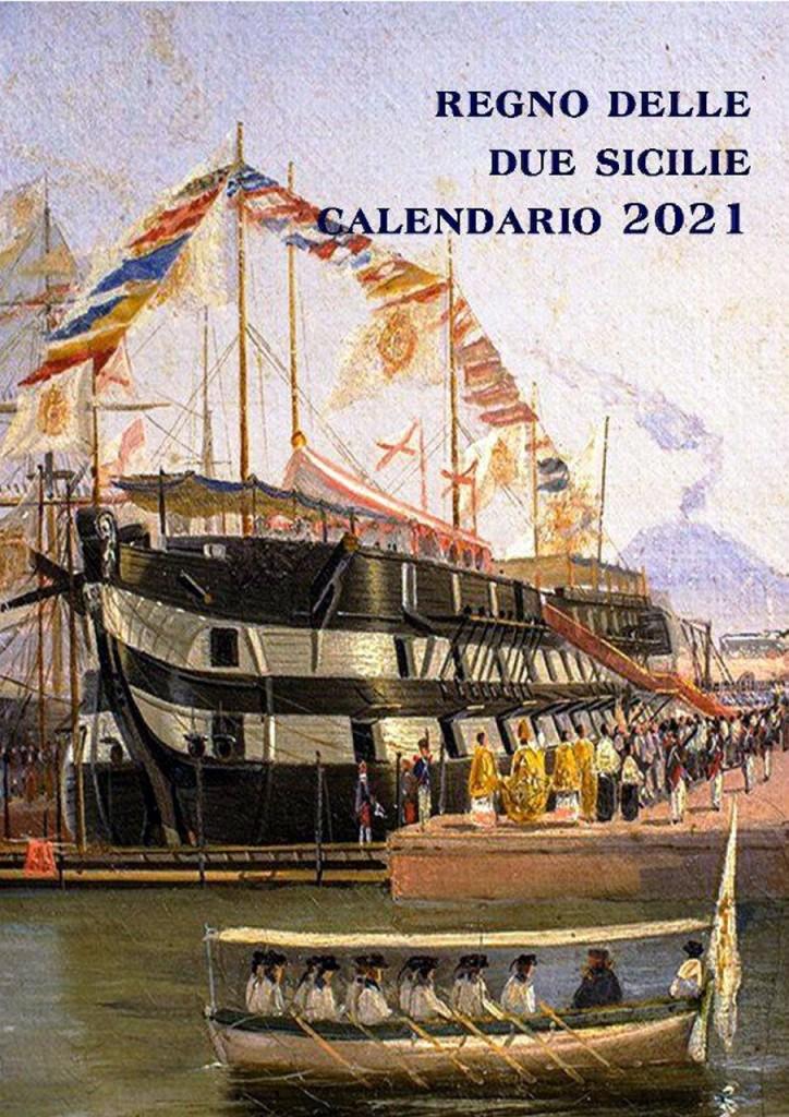 CALENDRIO DUE SICILIE 2021#001