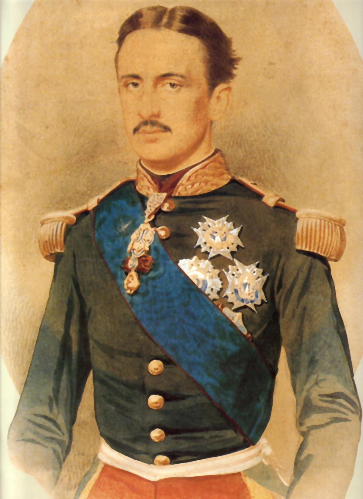Francesco II Sul sito